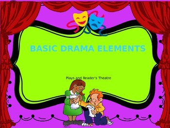 Drama Elements and Reader's Theatre Power Point