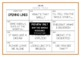 Drama / English Cards : LINES (Drama Games + Activities)