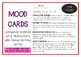 MOODS / EMOTIONS Drama / English Cards (with Drama Games +