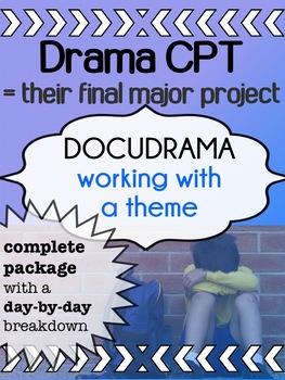 Drama - Final Project -  DOCUDRAMA