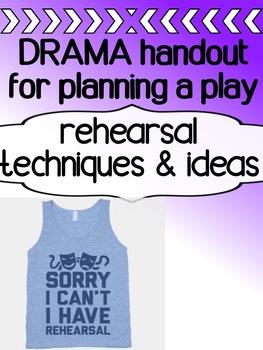 Drama - Rehearsals