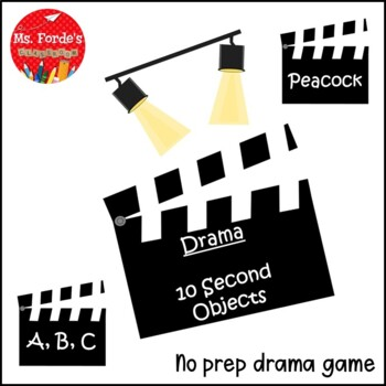 Drama: Ten Second Objects Game