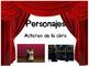 Drama elements posters (Spanish) Posters de elementos de Drama