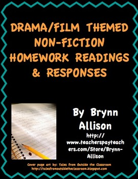 Drama/Film Themed Nonfiction Readings & Responses