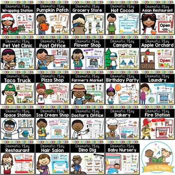 Dramatic Play Bundle 20 Different Themes
