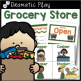 Dramatic Play Grocery Store Kit for Pre-K and Kindergarten