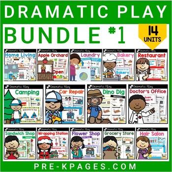 Dramatic Play Kits Bundle 1