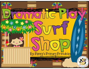 Dramatic Play Surf Shop