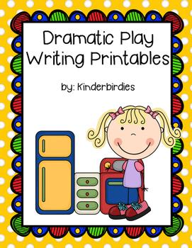 Dramatic Play Writing Printables