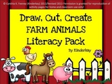 Draw, Cut, Create, and Write FARM LIteracy pack