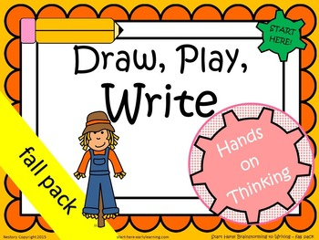 Draw, Play, Write! K-1 Fall Pack