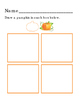 Draw Pumpkins Complete Pattern Rhombus Diamond Square Vege