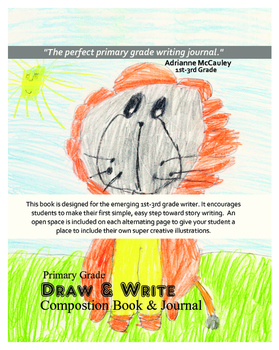 Draw & Write Composition Book and Journal