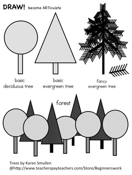 DRAW! TREES by Karen Smullen
