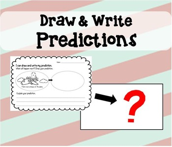 Draw and Write Prediction