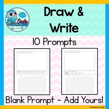 Draw and Write Writing Prompts