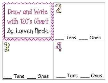 Draw and Write with my 120's Chart