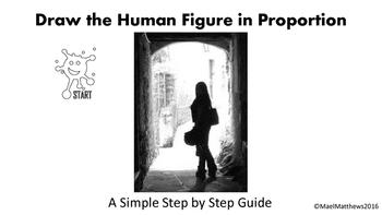 Art Teaching Resource - Draw the Human Figure