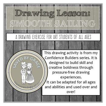 Drawing Activity to Build Confidence and Skill. No prep ar
