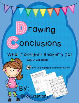 Drawing Conclusions ~ Interactive Reading Strategy