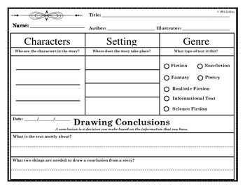 Drawing Conclusions-Mini-lessons (Guided Reading)