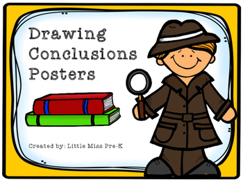 Drawing Conclusions Posters