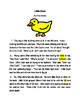 Drawing Conclusions Test (Fiction) Editable RL.2.1