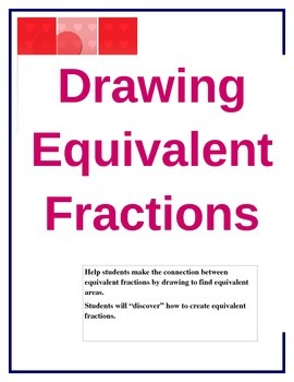 Drawing Equivalent Fractions