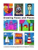 Drawing Faces and Places