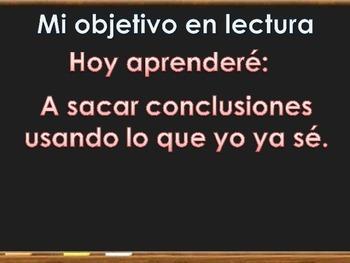 Drawing conclusions - Haciendo conclusiones Espanol