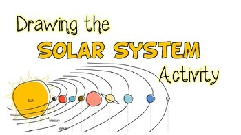 Drawing the Solar System lesson