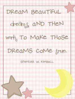 Dream Beautiful Dreams- Baby  Bundle