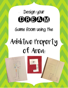 Dream Game Room- Additive Property of Area using Composite