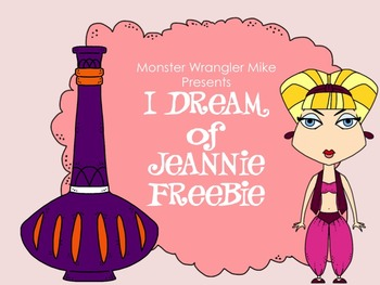 Dreaming of Jeannie Freebie