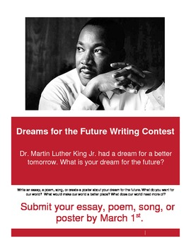 Dreams Writing Contest