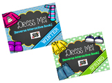 Dress Me Reverse Interactive Books Winter and Spring
