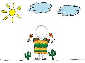 Dress up yourself for Cinco de Mayo / Vístete para el 5 de Mayo