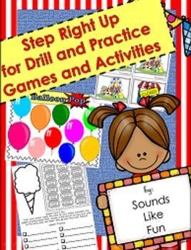 Drill and Practice Games and Activities for Speech Therapy