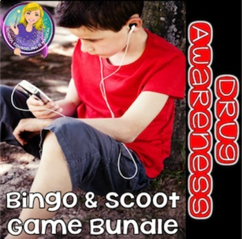 Drug Awareness Bingo & Scoot Game Bundle (save 20%)