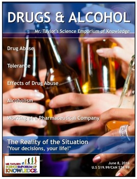 Drugs and Alcohol: Guided Note Packet