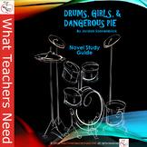 Drums, Girls, & Dangerous Pie Literature Unit / Novel Guide