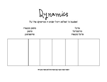 Dry Erase Sub Plans - Dynamics