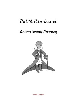 The Little Prince Dual Entry Reading Journal - includes ex