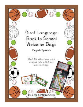 Back to School Welcome Bags Dual Language – English/Spanis