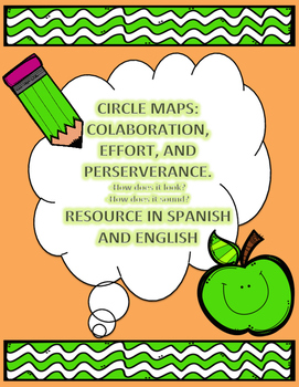 Dual Language Circle Maps (Spanish and English)
