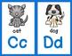 Dual Language Combo:  English and Spanish Alphabet Posters