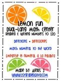 Dual Language Math Center Game