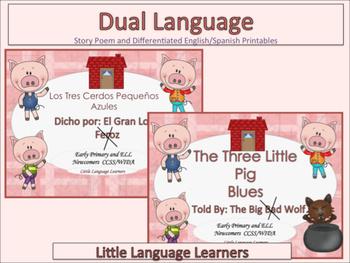 "Spanish Dual Language Bilingual: ""Three Little Pigs""-EL Ne"