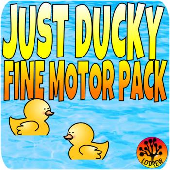 Duck Centers Fine Motor Spring Preschool SPED ECE Kindergarten