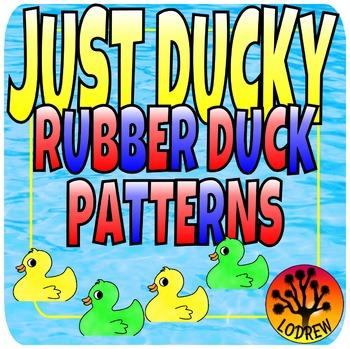 Patterns Rubber Ducks Math Centers Kindergarten Preschool